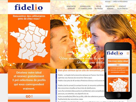 Création des Sites Internet Fidelio