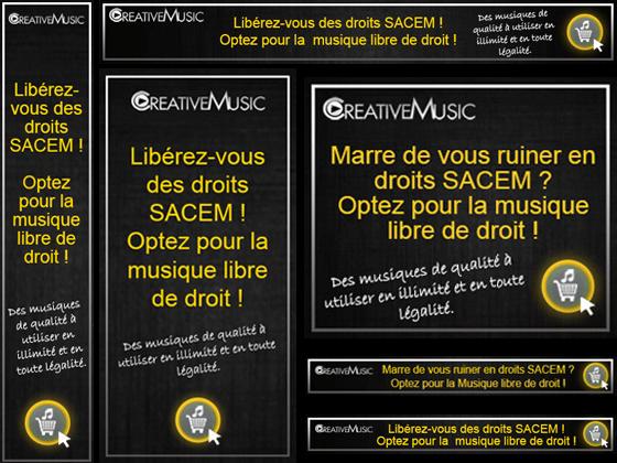 Campagne Adwords vidéo creative music