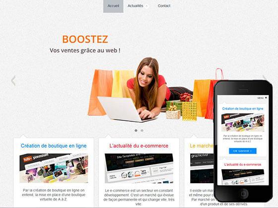 Création de boutiques en ligne