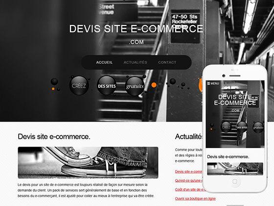 site : devis-site-e-commerce.com