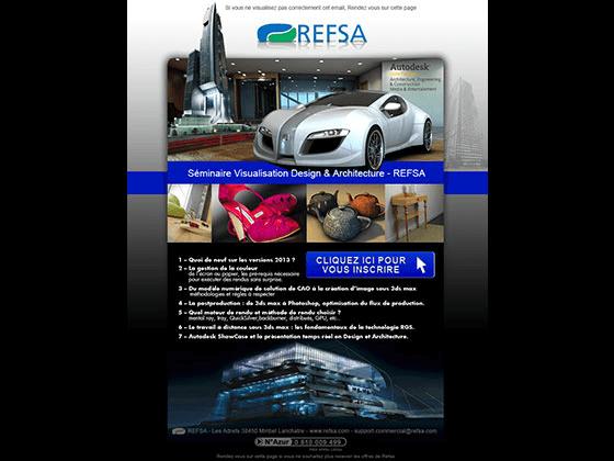 Emailing de seminaire REFSA