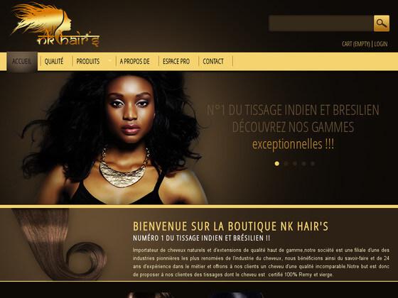 boutique en ligne NK hair's