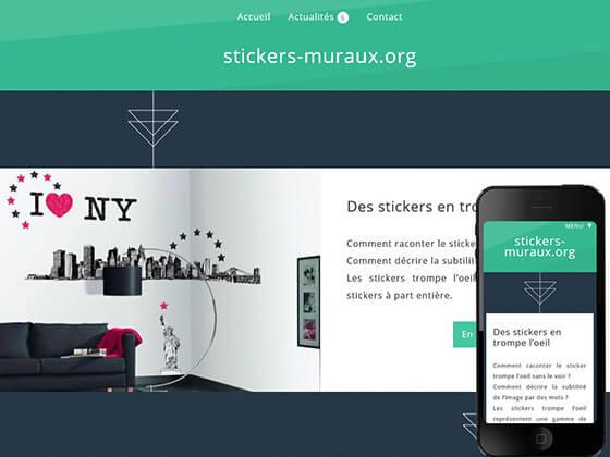 Création du site Stickers mureaux