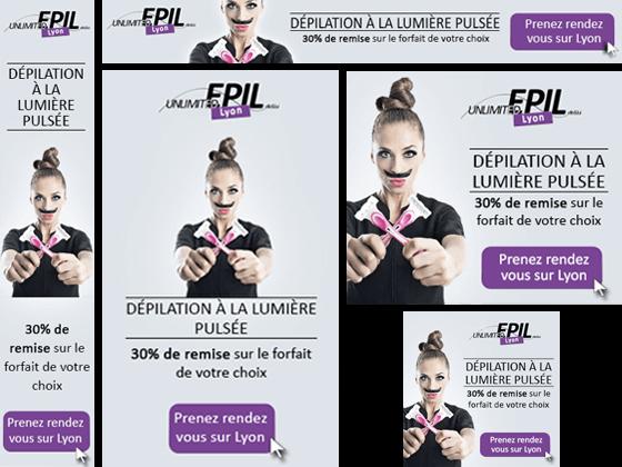 Création de Campagne Adwords pour Unlimited epil 69