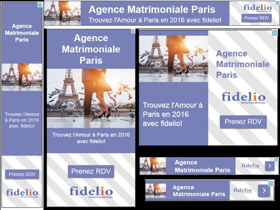 Campagne Adwords Fidelio Paris