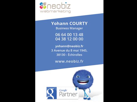 Carte de visite Neobiz