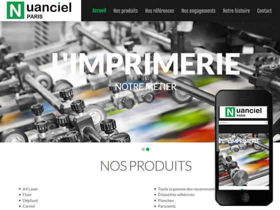 Création du site Nuanciel