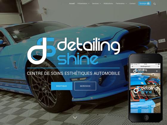 Boutique en ligne Detailing Shine