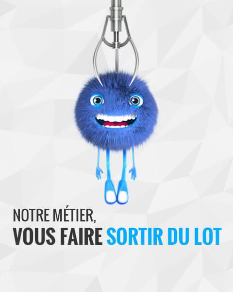 slide mascotte : agence webmarketing